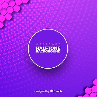 Fond de demi-teinte abstrait violet
