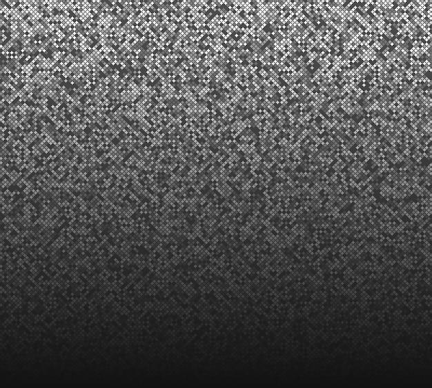 Fond de demi-teinte grunge fond de carrés gris et noirs de différentes tailles et nuances