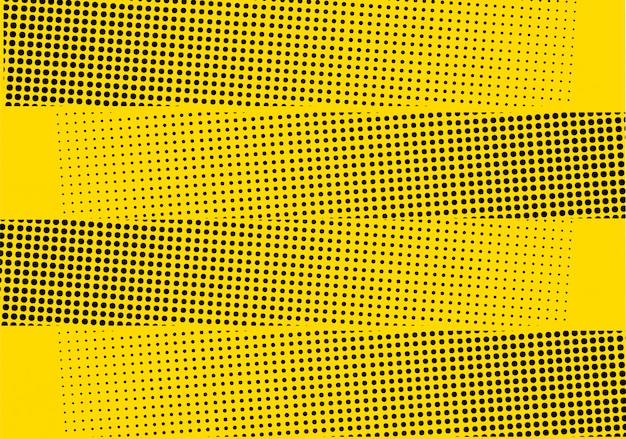 Fond de demi-teinte moderne jaune