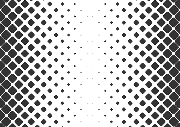 Fond de demi-teinte de points noirs et blancs abstraits, conception de fond de demi-teinte