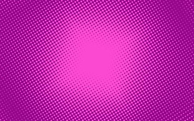Fond de demi-teinte pop art. motif rose comique. illustration vectorielle.