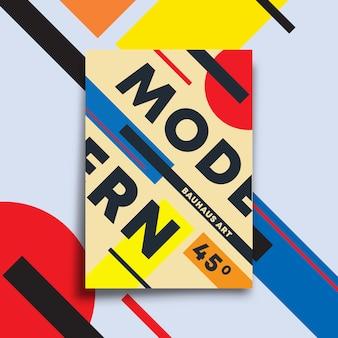 Fond avec un design d'art moderne