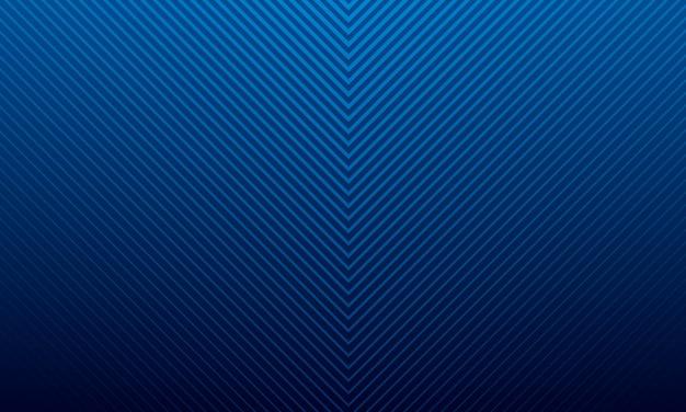 Fond De Design Moderne Dégradé Bleu, Modèle De Fond Style Futuriste Vecteur Premium