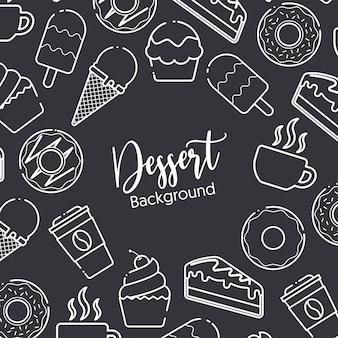 Fond de desserts