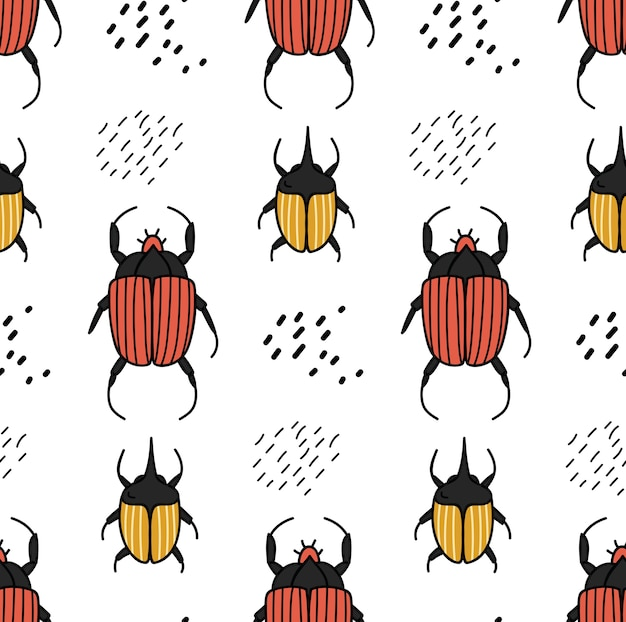 Fond de dessin animé mignon adapté à l'impression sur tissu
