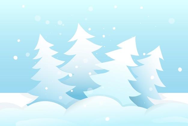 Fond de dessin animé vide saisonnier de noël ou du nouvel an