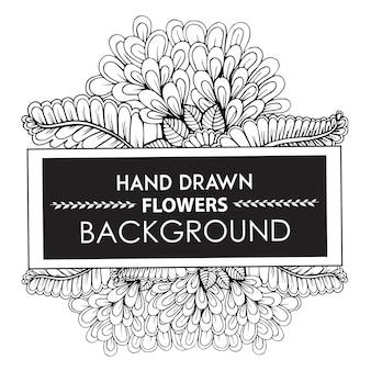 Fond dessiné à la main