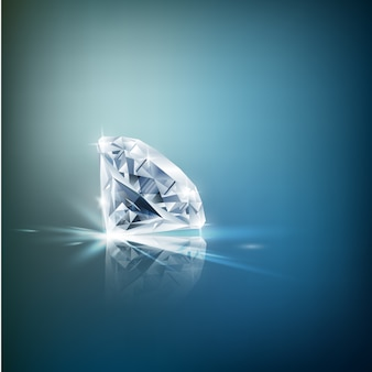 Fond de diamant brillant