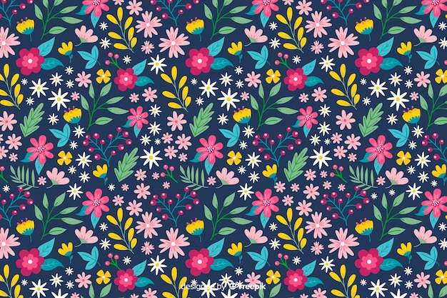 Fond ditsy floral