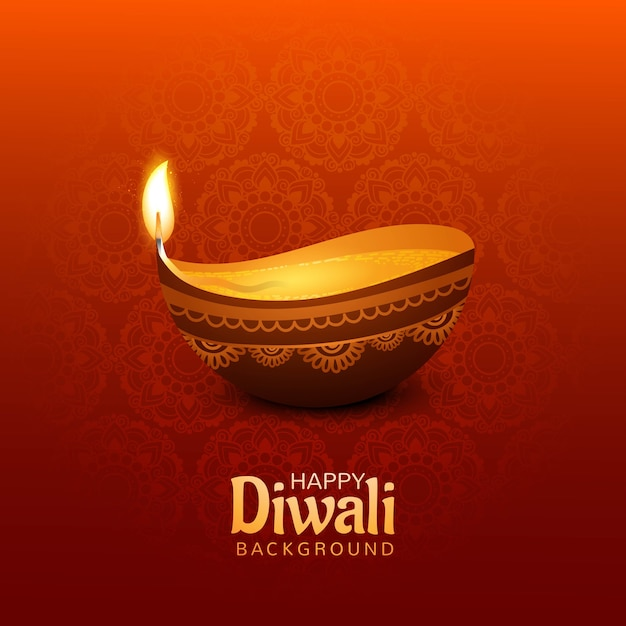 Fond de diwali heureux