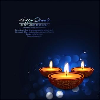 Fond diwali heureux