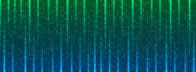 Fond de données de code binaire numérique, numéros d'ordinateur, concept technologique