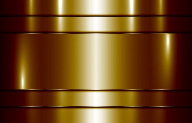 Fond doré brillant