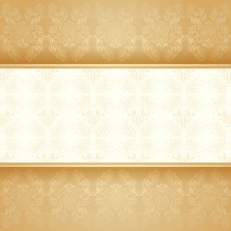 Fond doré décoratif