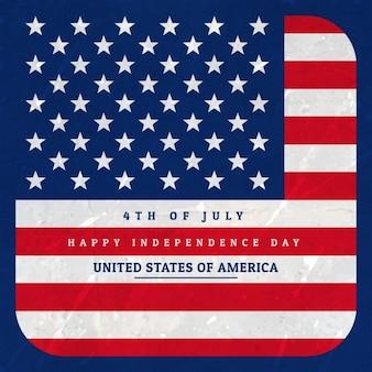 Fond de drapeau américain illustration