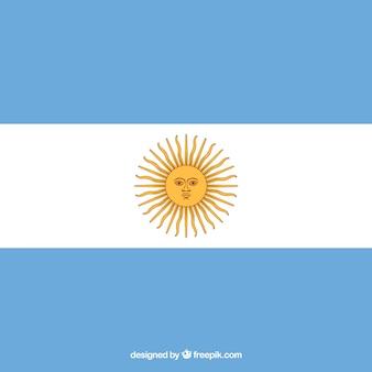 Fond de drapeau de l'argentine