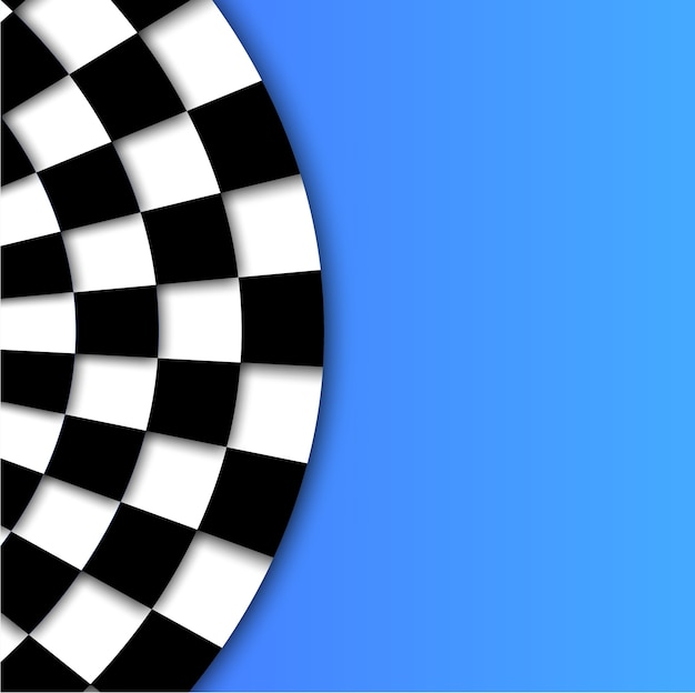 Fond de drapeau de course