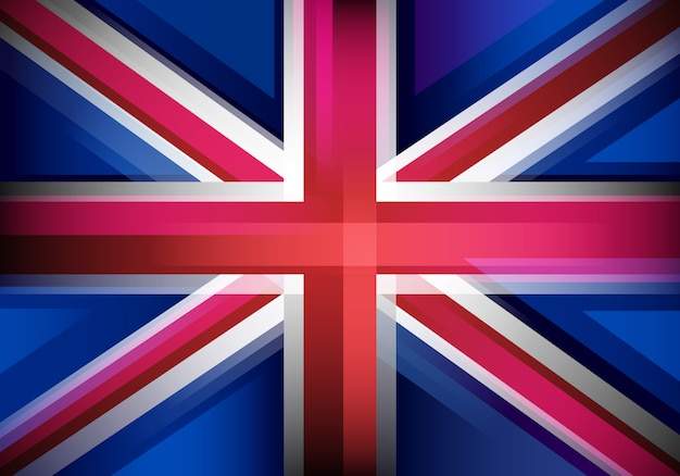 Fond avec drapeau du royaume-uni
