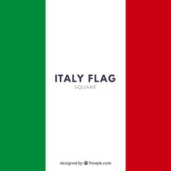 Fond de drapeau italien