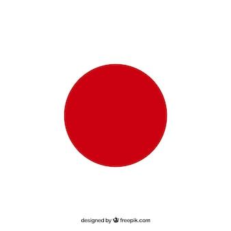 Fond de drapeau japonais