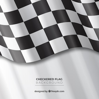 Fond de drapeau ondulé ondulé