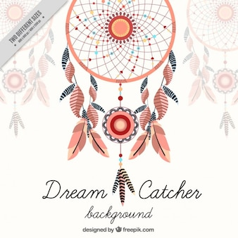 Fond dreamcatcher décoratif