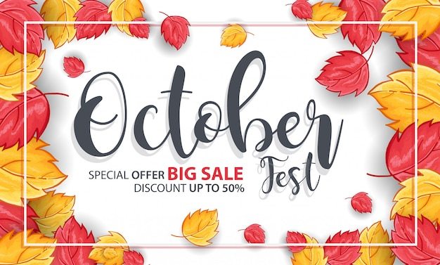 Fond du festival d'octobre