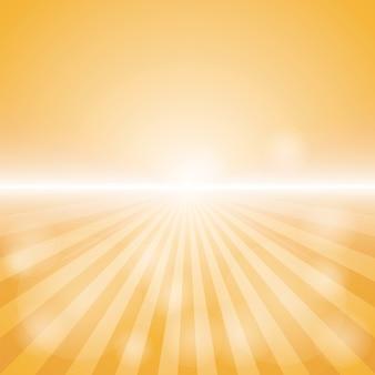 Fond d'éclat de couleur orange