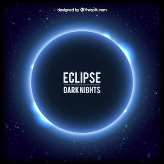 Fond eclipse