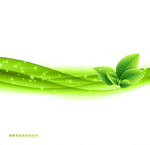 Fond d'écologie nature abstraite