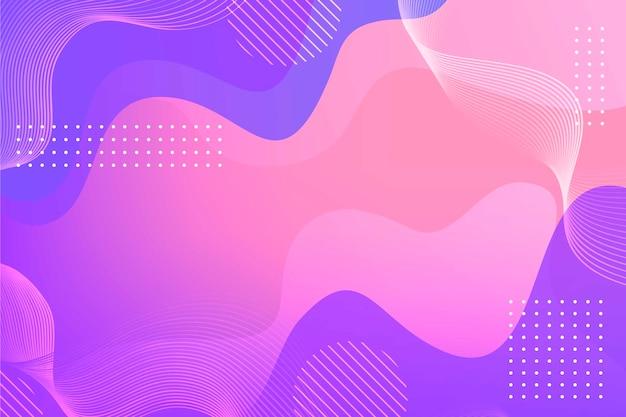 Fond d'écran abstrait coloré