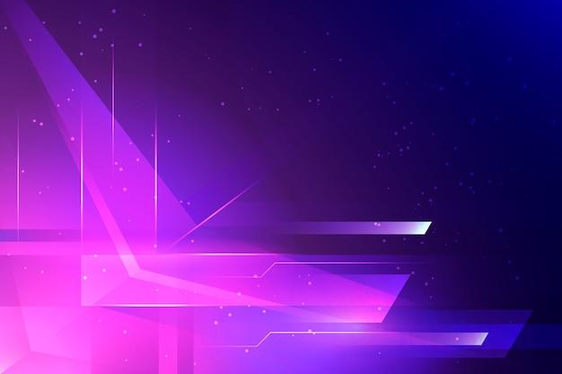 Fond d'écran abstrait avec un design futuriste