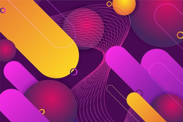 Fond d'écran abstrait futuriste