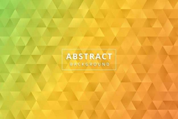 Fond d'écran abstrait. hexagone de polygone coloré vecteur premium