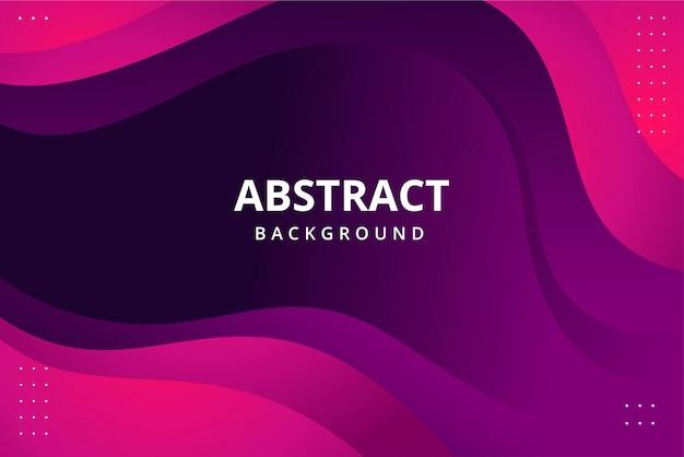 Fond d'écran abstrait moderne de couleur rose framboise bleu vif