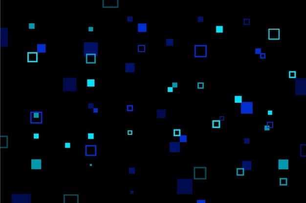 Fond d'écran abstrait pixel pluie