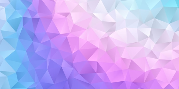 Fond d'écran abstrait polygone géométrique. cache-tête en forme de triangle de couleur pastel douce et douce