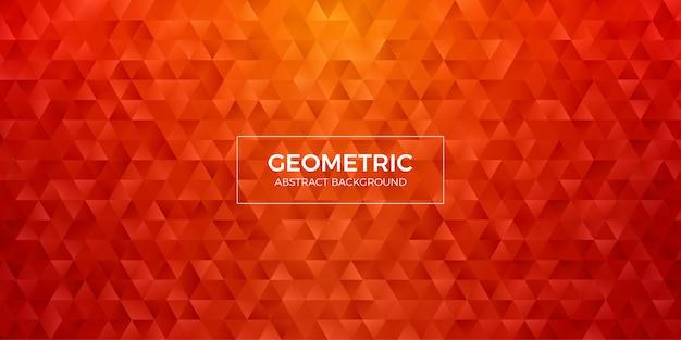 Fond d'écran abstrait polygone géométrique. cache-tête en forme de triangle low polly