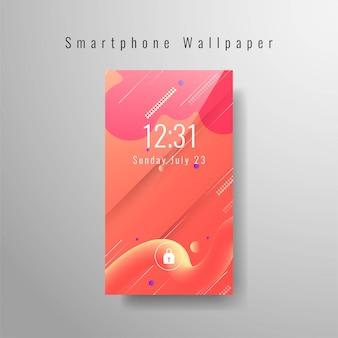 Fond d'écran abstrait smartphone