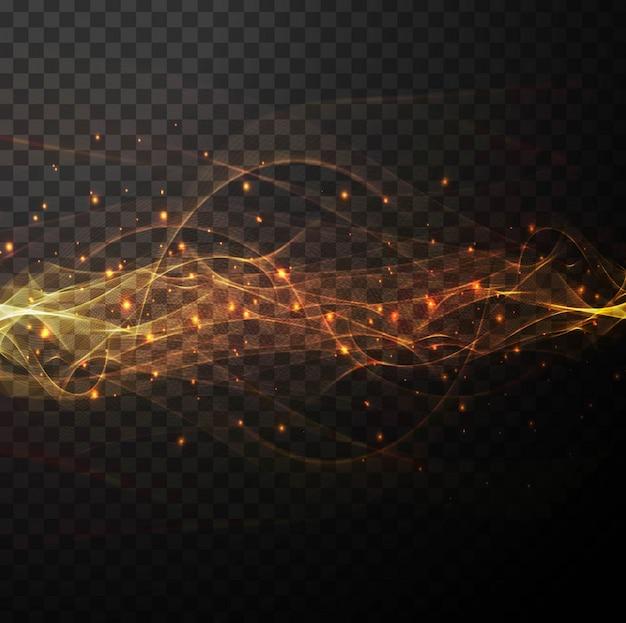 Fond d'écran brillant