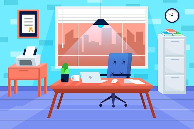 Fond d'écran de bureau pour la visioconférence