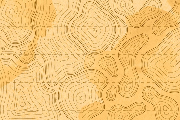 Fond d'écran de carte topographique