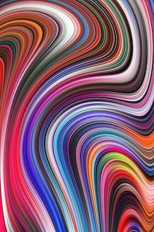 Fond d'écran de créativité de mouvement abstrait