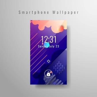 Fond d'écran élégant smartphone