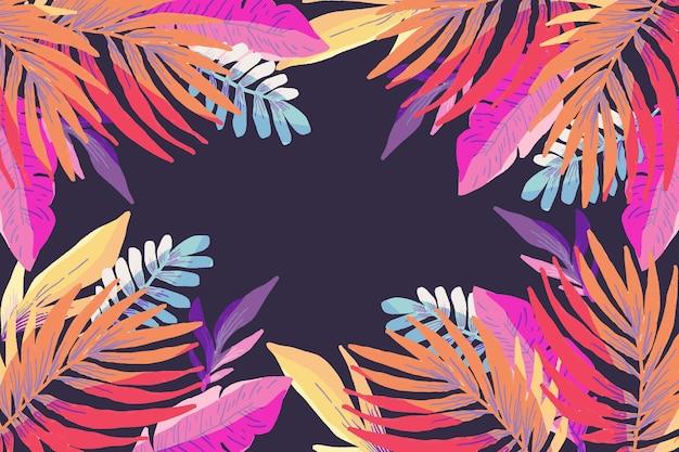 Fond d'écran d'été coloré pour zoom