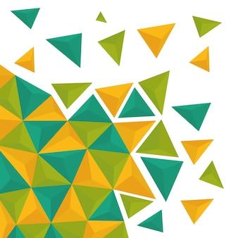 Fond d'écran géométrique ou fond, illustration vectorielle eps10