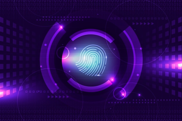 Fond d'écran identité néon