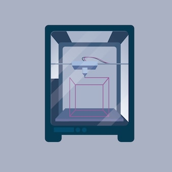 Fond d'écran de l'imprimante 3d