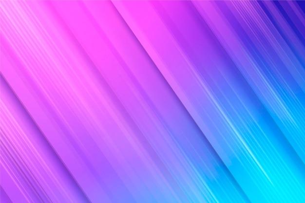 Fond d'écran de lignes dynamiques dégradées