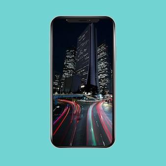 Fond d'écran mobile lumières de la ville